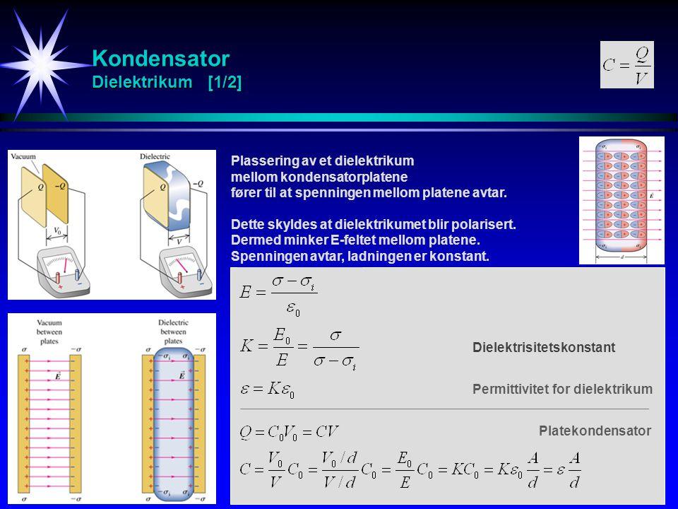 Kondensator Dielektrikum [1/2]